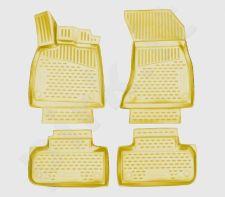Kilimėliai 3D AUDI Q5 2017->, 4 pcs. beige /L03015B