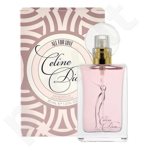 Celine Dion All For Love, tualetinis vanduo moterims, 30ml