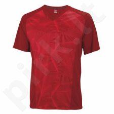 Marškinėliai tenisui Wilson Solana Geo V Neck WR1089900