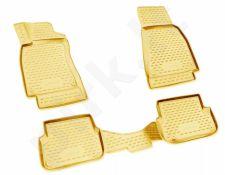 Kilimėliai 3D AUDI A5 2016-> 4 pcs. beige /L03020B