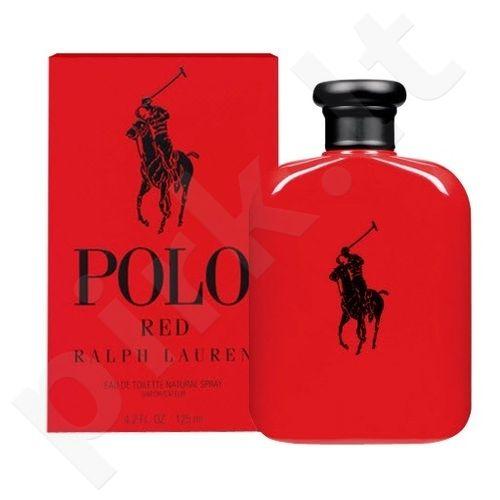 Ralph Lauren Polo Red, tualetinis vanduo vyrams, 125ml