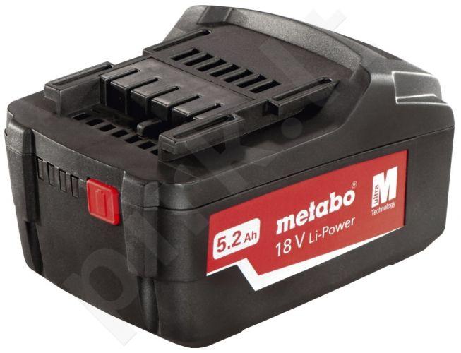 Akumuliatorinė baterija Metabo 18V / 5,2 Ah Li - Power Extreme
