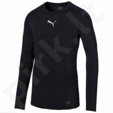 Marškinėliai treniruotėms Puma TB Longsleeve Shirt Tee M 65461203