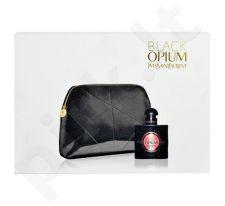 Yves Saint Laurent Black Opium rinkinys moterims, (EDP 30ml + kosmetikos krepšys)