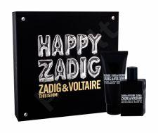 Zadig & Voltaire This is Him!, rinkinys tualetinis vanduo vyrams, (EDT 50 ml + dušo želė 100 ml)