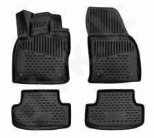 Kilimėliai 3D AUDI Q2 2016-> black /L03021