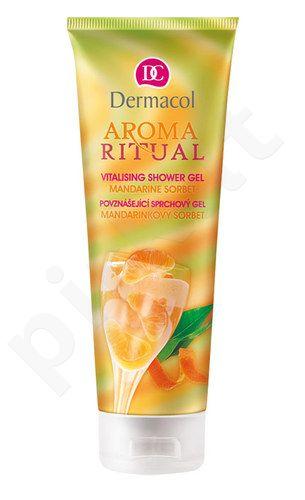 Dermacol Aroma Ritual Vitalising dušo želė Mandarin Sorbet, kosmetika moterims, 250g