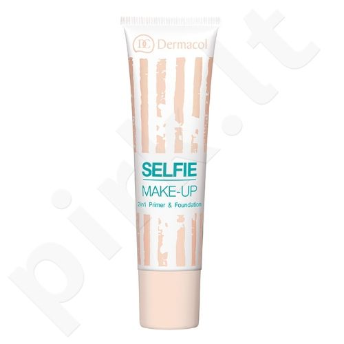 Dermacol Selfie makiažo pagrindas, kosmetika moterims, 25ml, (1)