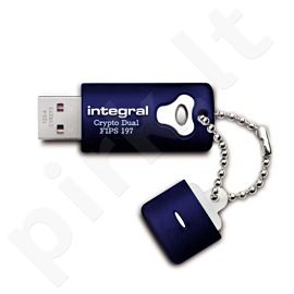 Integral USB CRYPTO DUAL 16GB - HARDWARE AES 256BIT, FIPS197