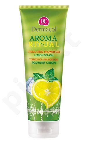 Dermacol Aroma Ritual Stimulating dušo želė Lemon Splash, kosmetika moterims, 250ml