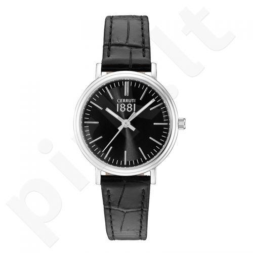 Moteriškas laikrodis Cerruti 1881 CRM111SN02BK