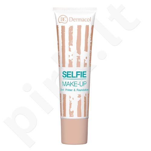 Dermacol Selfie makiažo pagrindas, kosmetika moterims, 25ml, (3)