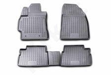 Guminiai kilimėliai 3D TOYOTA Corolla 2006-2012, 4 pcs. /L62036G /gray