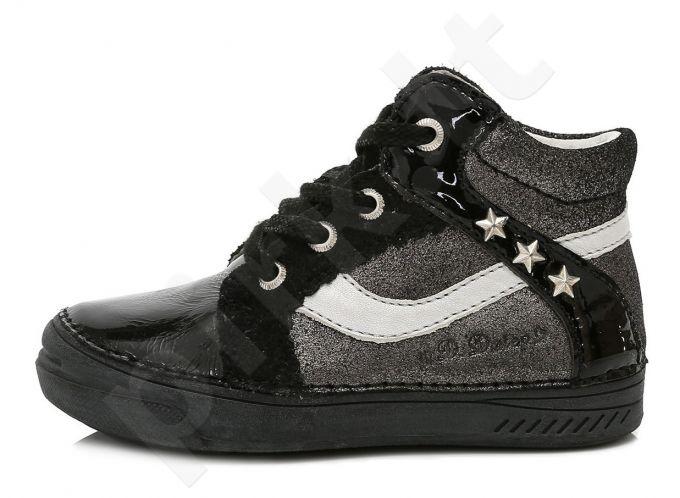 D.D. step juodi batai 25-30 d. 040419m