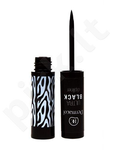 Dermacol Liquid Dipliner, akių kontūrui moterims, 2,8ml, (Black)