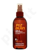Piz Buin Tan & Protect Tan Accelerating Oil purškiklis SPF6, kosmetika moterims, 150ml