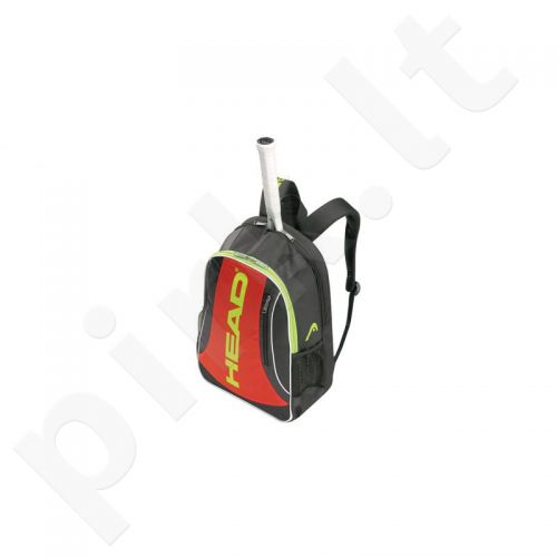 Kuprinė tenisui Head Elite BackPack 283464 juoda-raudona