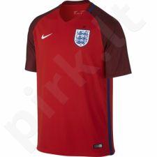 Marškinėliai futbolui Nike Anglia Away Stadium M 724608-600
