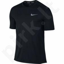 Marškinėliai bėgimui  Nike Dry Miler Top M 833591-010