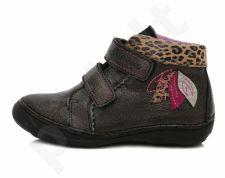D.D. step juodi batai 31-36 d. 046608al