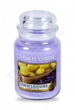 Yankee Candle Lemon Lavender, aromatizuota žvakė moterims ir vyrams, 623g