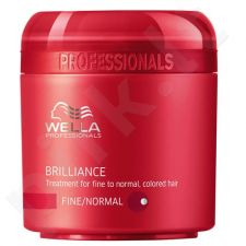 Wella Brilliance Mask Normal Hair kaukė normaliems plaukams, 500ml, kosmetika moterims