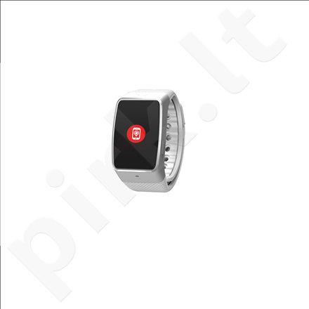 MyKronoz Smartwatch  ZeWatch4  Silver / white, 200 mAh, Touchscreen, Bluetooth, Waterproof,