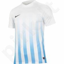 Marškinėliai futbolui Nike Striped Division II M 725893-100