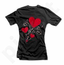 """Moteriški marškinėliai """"Beprotiška meilė"""""""