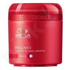 Wella Brilliance kaukė Thick Hair, 500ml, kosmetika moterims