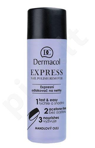 Dermacol Express nagų lako valiklis, kosmetika moterims, 120ml