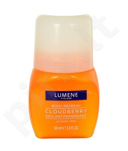 Lumene Body Refresh Cloudberry Deo-Antiperspirant, kosmetika moterims, 60ml
