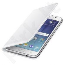 Samsung Galaxy J5 atverčiamas dėklas piniginė WJ500BWE juodas