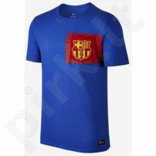 Marškinėliai Nike Barcelona Crest Tee M 832658-063