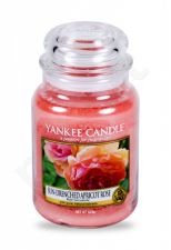 Yankee Candle Sun-Drenched Apricot Rose, aromatizuota žvakė moterims ir vyrams, 623g