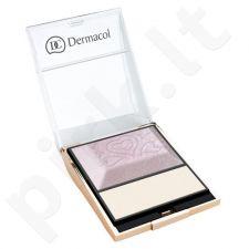 Dermacol veido švytėjimo paletė, kosmetika moterims, 9g
