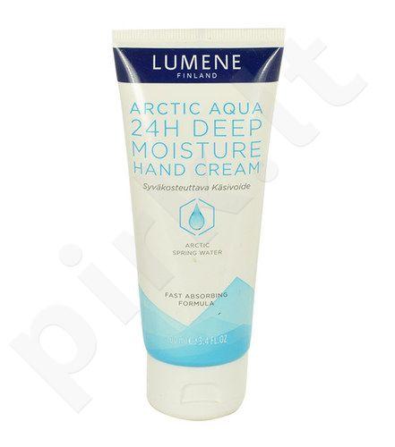 Lumene Arctic Aqua 24H Deep Moisture rankų kremas, kosmetika moterims, 100ml