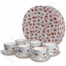 6 puodelių su lėkštute komplektas 105804