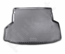Guminis bagažinės kilimėlis TOYOTA Highlander  2010-2013 (folded 3th row) black /N39019
