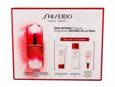 Shiseido Ultimune, rinkinys Skin serumas moterims, (Facial serumas 50 ml + Cleaning Foam 15 ml + Lotion 30 ml + Eye Care 3 ml)