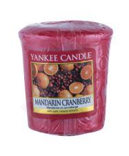 Yankee Candle Mandarin Cranberry, aromatizuota žvakė moterims ir vyrams, 49g