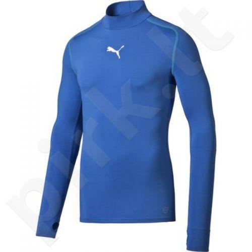 Marškinėliai treniruotėms Puma TB Longsleeve Tee Warm M 65461102