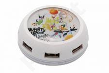 USB šakotuvas-UFO MODECOM 7 port STREET7HUB - LOONEY TUNES