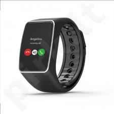 MyKronoz Smartwatch ZeWatch4 HR  Black/ black, 200 mAh, Touchscreen, Bluetooth, Heart rate monitor, Waterproof,