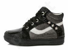 D.D. step juodi batai 31-36 d. 040419l