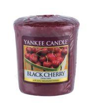 Yankee Candle Black Cherry, aromatizuota žvakė moterims ir vyrams, 49g
