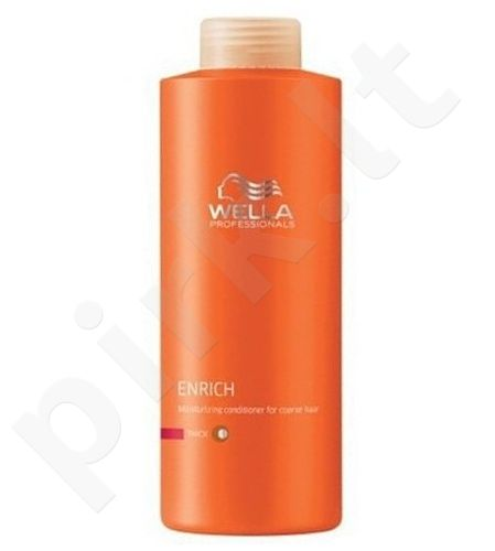Wella Enrich kondicionierius Thick Hair, 200ml, kosmetika moterims
