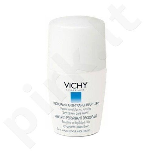 Vichy Antiperspirant Sensitive Roll-on 48h, kosmetika moterims, 50ml