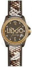 Laikrodis LIU-JO LUXURY TIME   SKIN MARRONE GOLD Swarovski,  ,  ,  ,