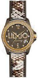Laikrodis LIU-JO LUXURY TIME   SKIN MARRONE GOLD Swarovski,  ,  ,  ,